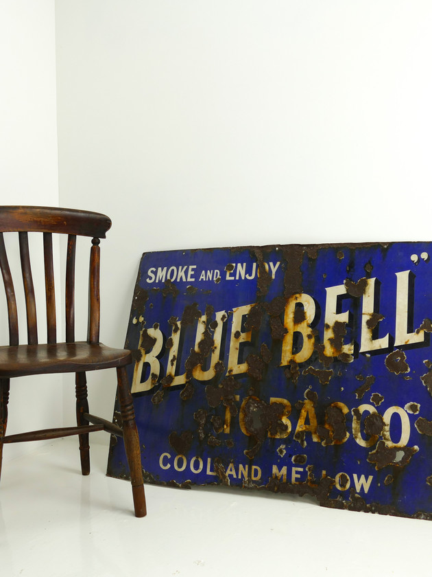 Bluebell Tobacco Advertising Sign