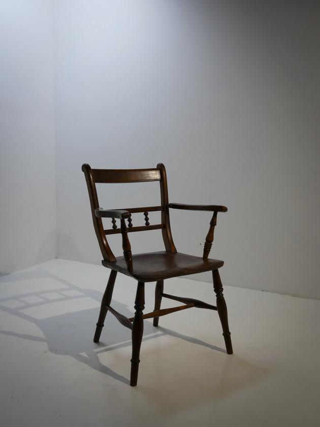 Scroll Back Windsor Armchair