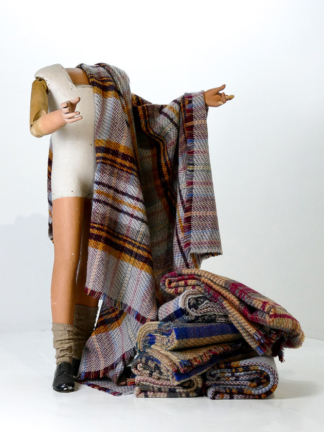 Light Welsh Wool Blanket