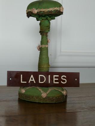 Ladies Door Plaque