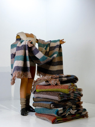 Chunky Welsh Throws