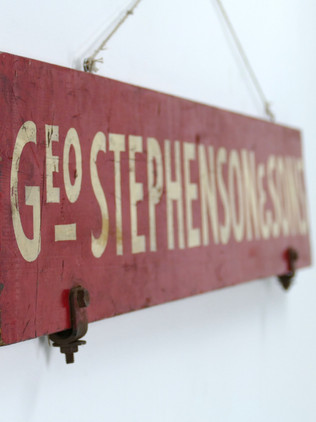 Painted Wagon Sign