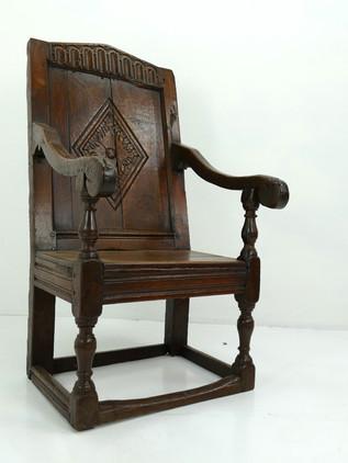 Period Oak Armchair