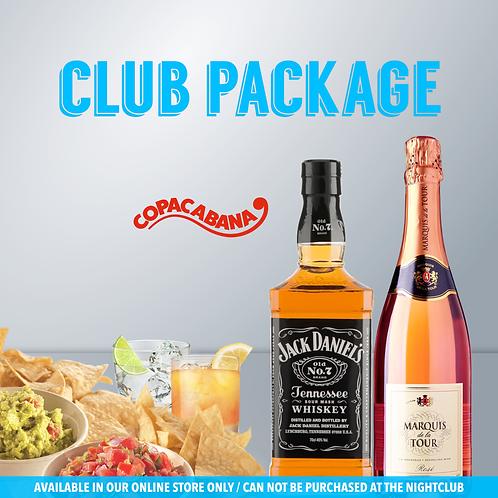 Club Package- VIP