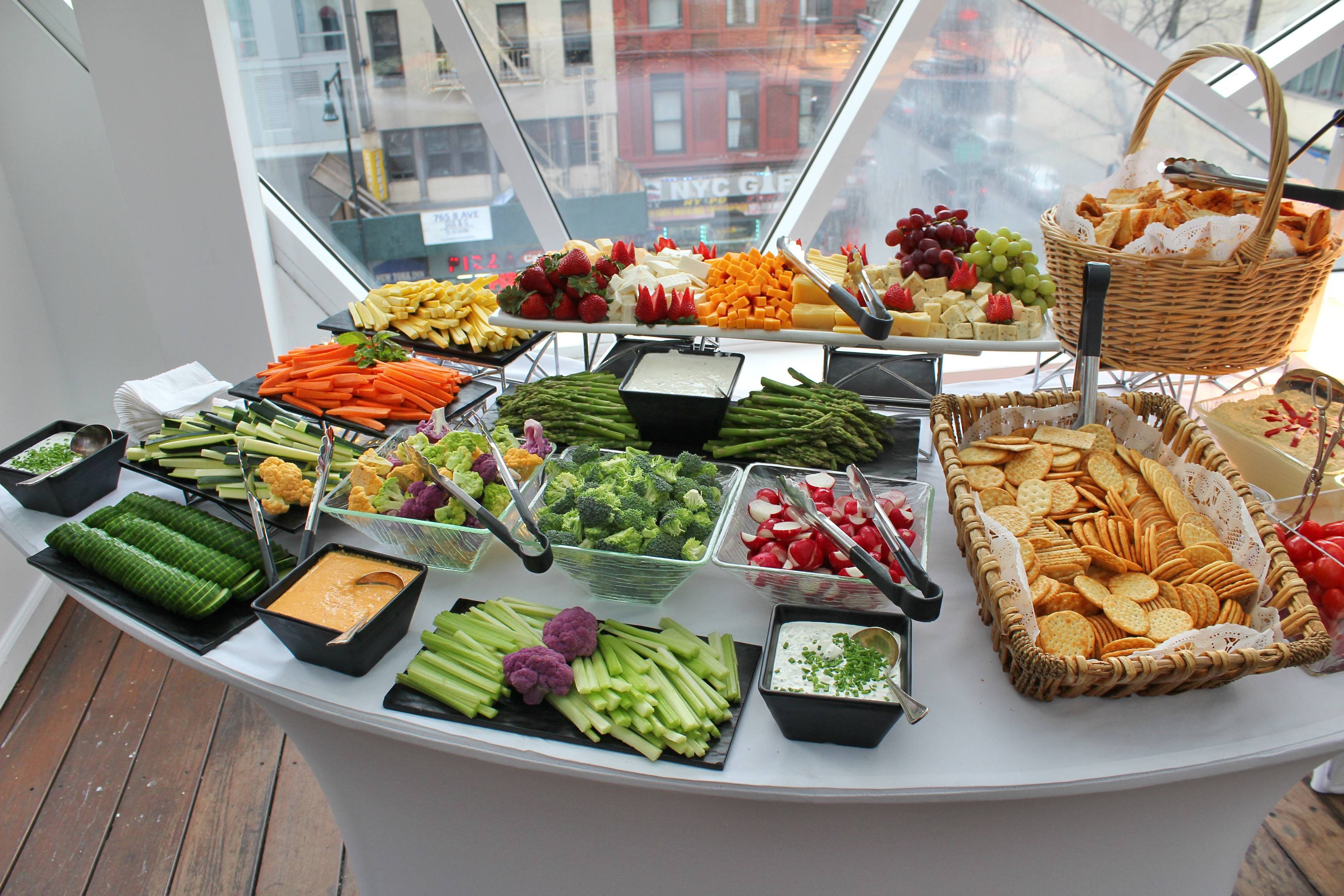 Food Photography: Vegetable Display