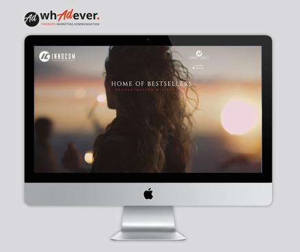 INNOCOM  Relaunch & Schaffung einer Markenidentität. Corporate Design.Web. Print. Klassisch & Responsiv.