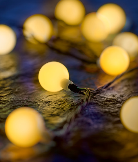 Innocom LED-Lichterkette0242b - Warmweis