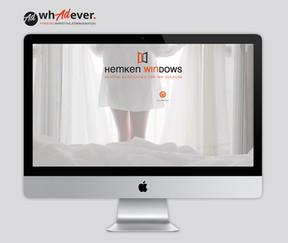 HEMKEN WINDOWS  Schaffung einer Markenidentität. Naming. Corporate Design. Web. Print. Klassisch & Responsiv.