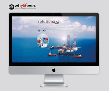 SOLUTIONS-N  Schaffung einer Markenidentität. Corporate Design.Web. Print. Display. Klassisch.