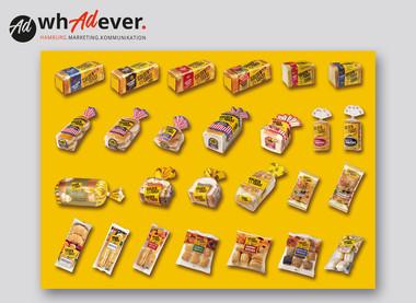 GOLDEN TOAST  Überblick über ein komplett neu gestaltes Produktsortiment des Branchenprimus  GOLDEN TOAST.
