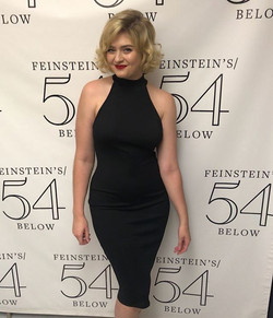 "Such a fun night at 54 Below, ""_Carded"""