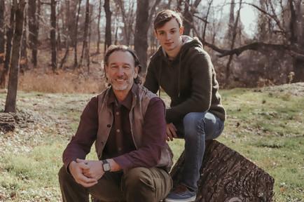 Steve and Seth