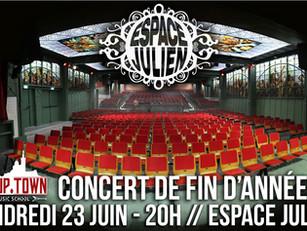 Concert de fin d'année à l'Espace Julien