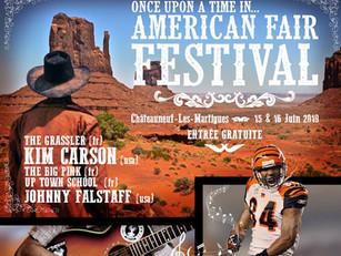 American Fair Festival - Dimanche 16 Juin