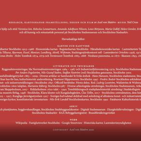 Medverkande, tack, källor och kommentarer - Film #1