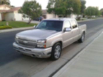 Chevrolet Truck with window tinting in Bakersfield