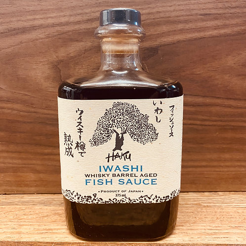 Whiskey Barrel Aged Fish Sauce