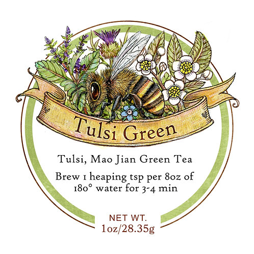 Communitea Tulsi Green