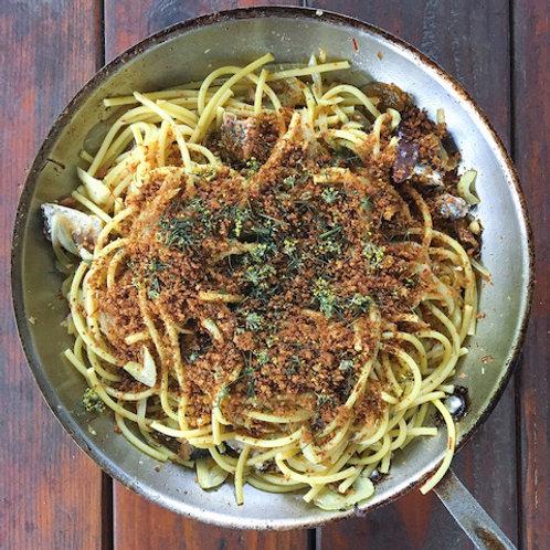 Pasta con le Sarde (Joy of Cooking Collab)