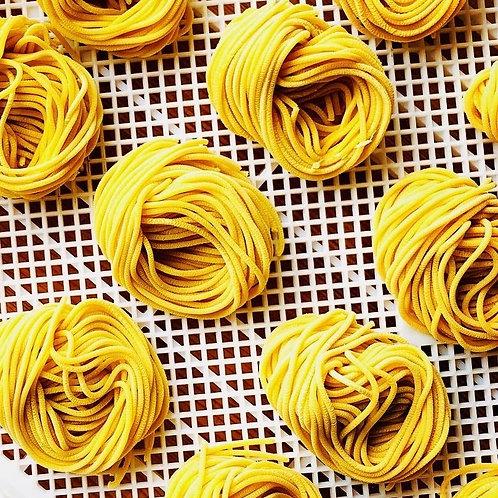 Fresh Pasta: Bucatini