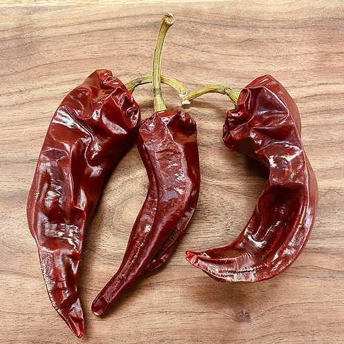 Basque Peppers, Dried