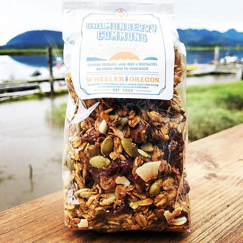 Granola: Oregon Hazelnut, Pumpkin Seed, Cherry & Nehalem River Valley Honey