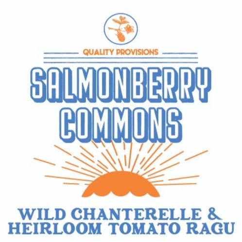 Wild Chanterelle Mushroom & Heirloom Tomato Ragu