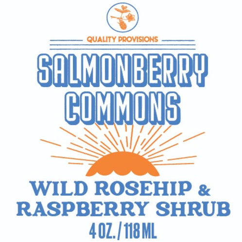 Wild Rosehip & Raspberry Shrub