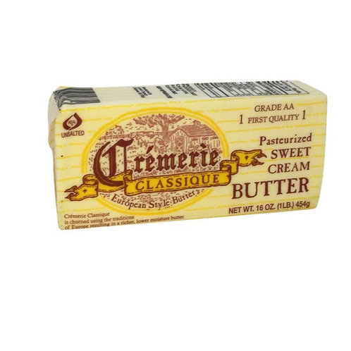 Butter, European Style Unsalted