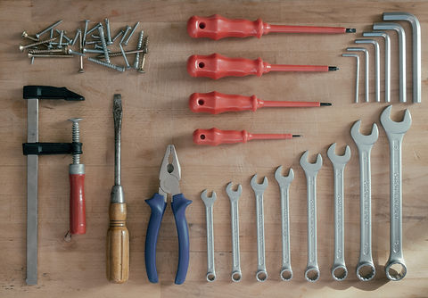Tools On A Workbench.jpg