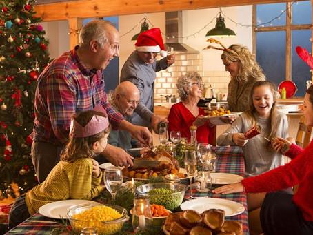 Família reunida o que fazer?