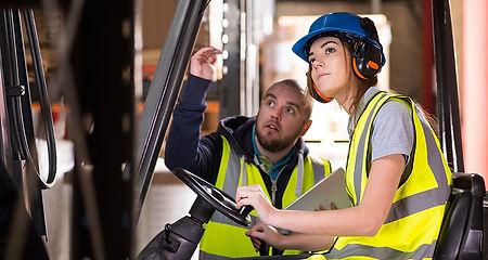 Conduite en sécurité d'engins de levage et de manutention