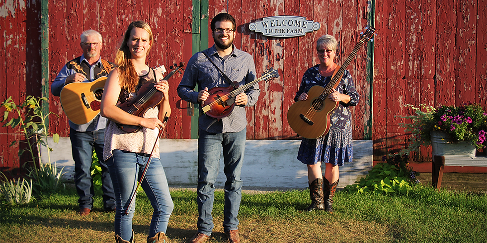 An evening of music with The Fiddler's Farm!