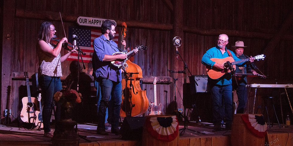 4th of July Music Weekend at The Fiddler's Farm!