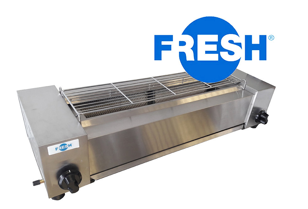FRESH GAS BARBECUE OVEN