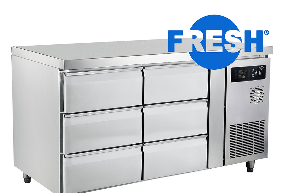 FRESH DRAWERS CHILLER (STAINLESS STEEL)