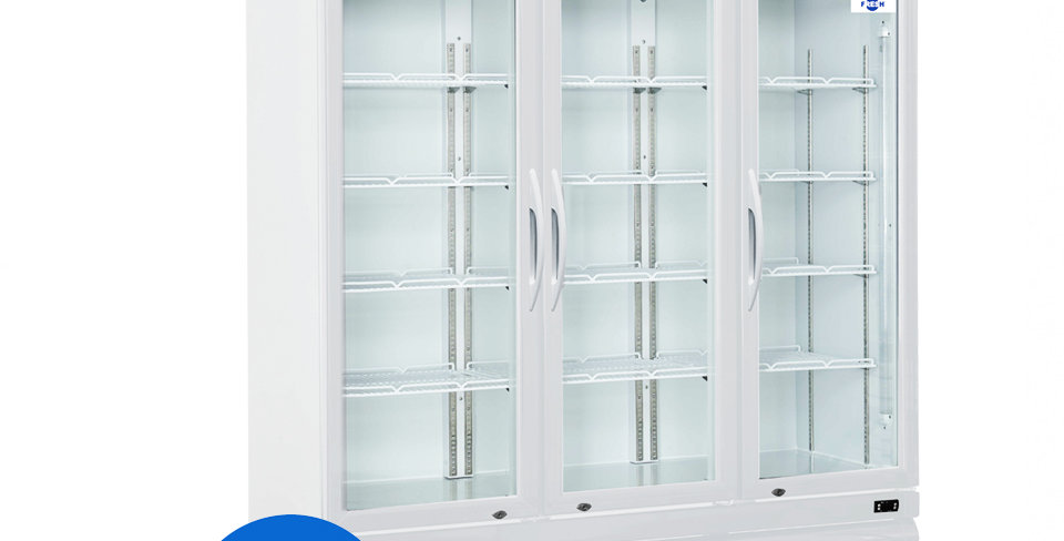 FRESH SHOWCASE CHILLER (WHITE)