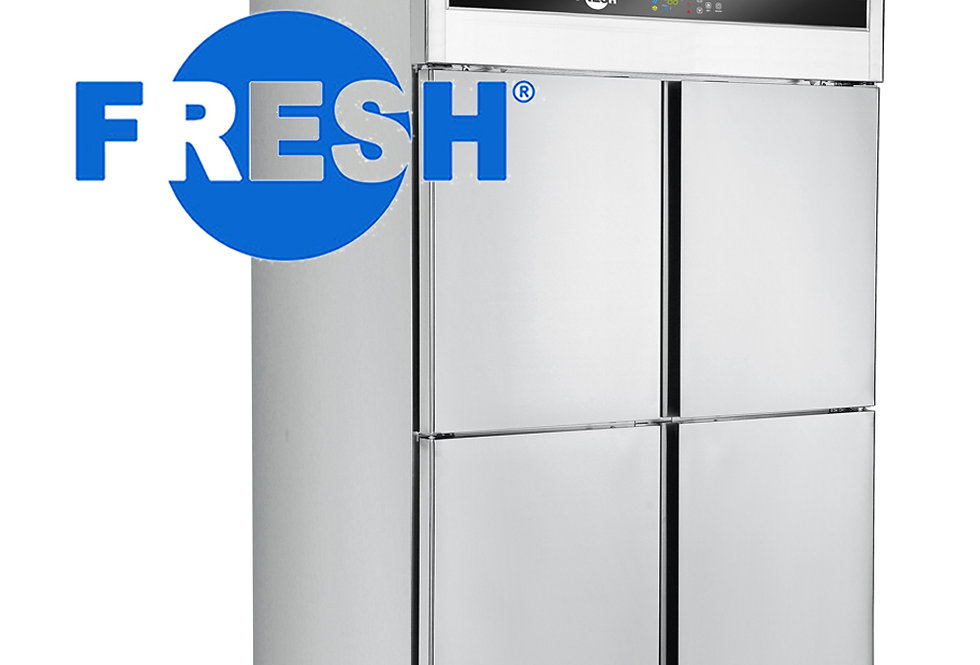 FRESH UPRIGHT FREEZER (STAINLESS STEEL)