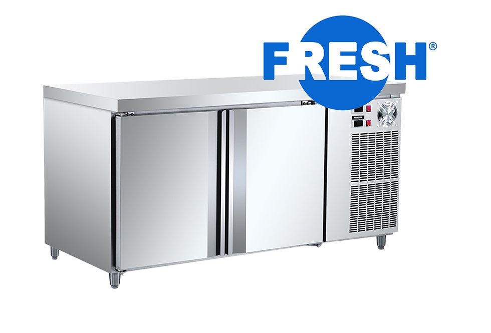 FRESH COUNTER TOP COMBO FREEZER & CHILLER (STAINLESS STEEL)