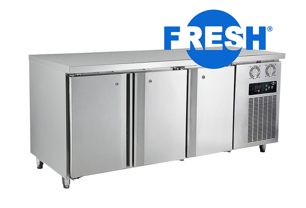 FRESH COUNTER TOP FREEZER (STAINLESS STEEL)