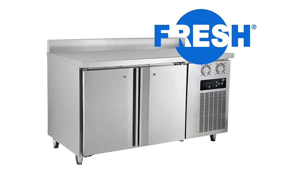 FRESH COUNTER TOP FREEZER WITH BACKSPLASH (STAINLESS STEEL)