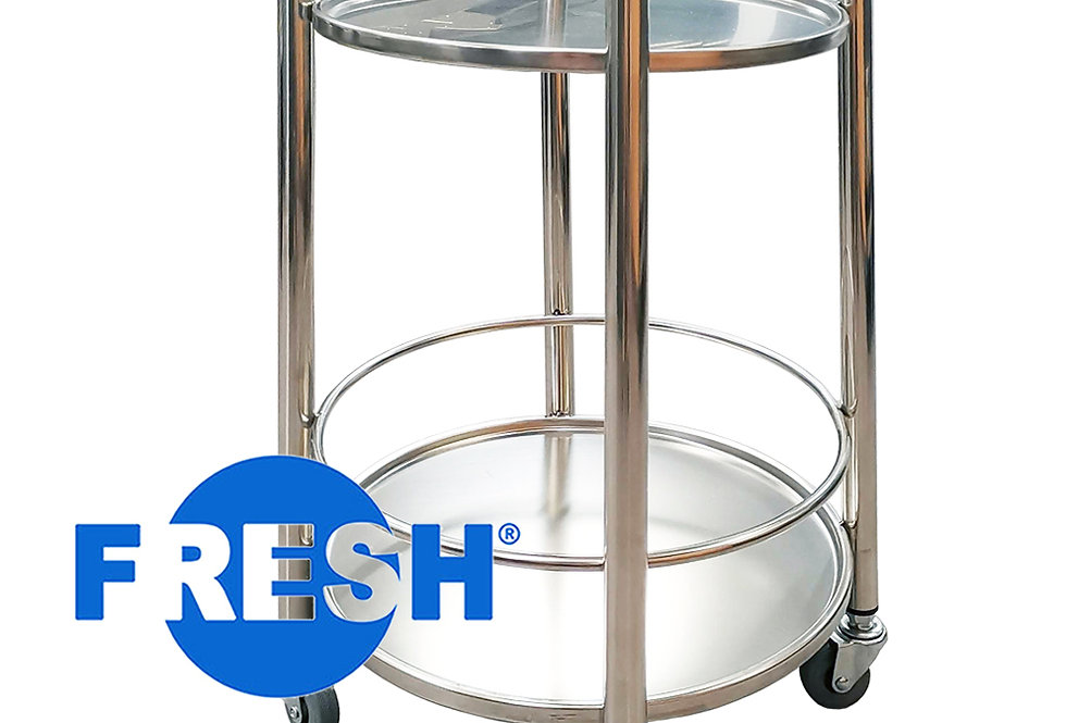 FRESH BEVERAGE CART (ROUND)