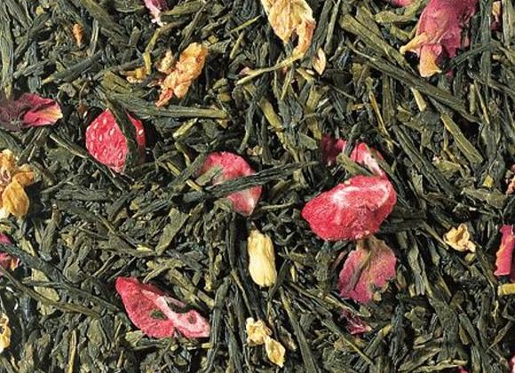 Thé vert - Sencha Litchi Fraise