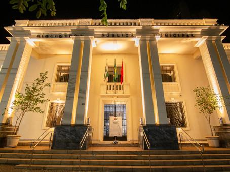 Prédios históricos estão iluminados em homenagem a Londrina