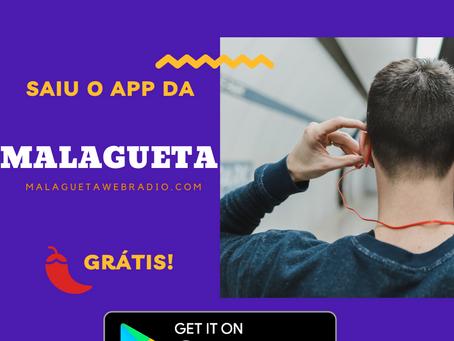 Malagueta Webradio ganhou aplicativo na Google Play