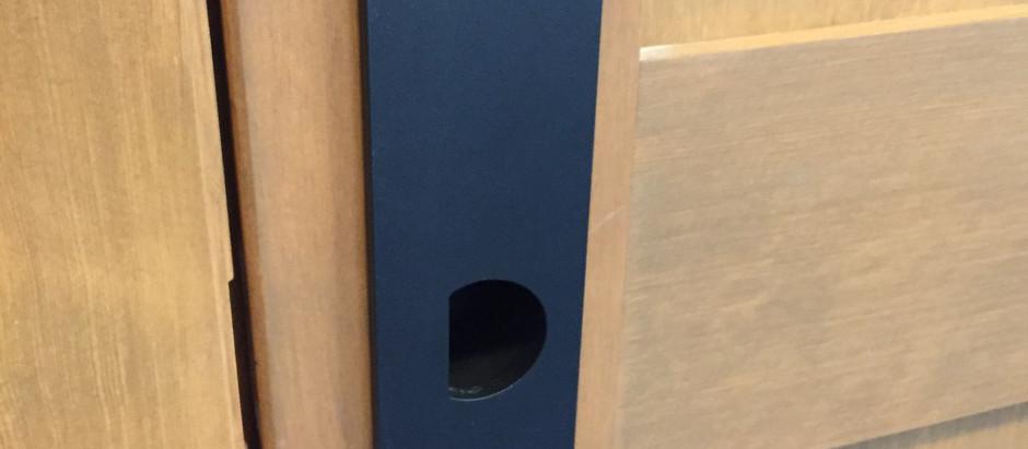 Custom door pull