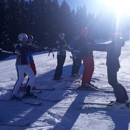 Perfekte Bedingungen bei unserem Ski Alpin Techniktraining in Radstadt.