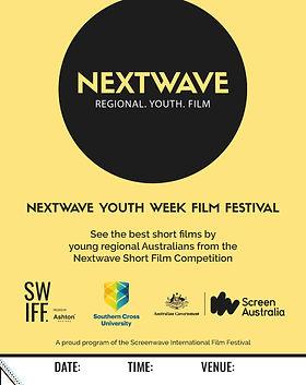 Nextwave Youth Week FIlm Festival - Post