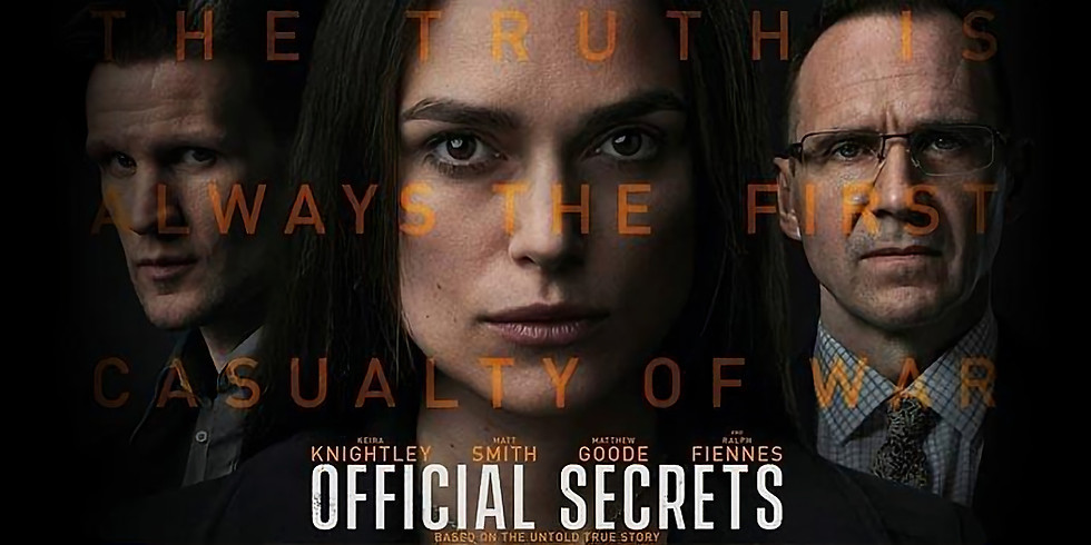 Cinema - Official Secrets [MA15+]