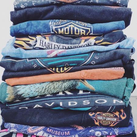 Vintage harley Davidson t-shirt & sweatshirt